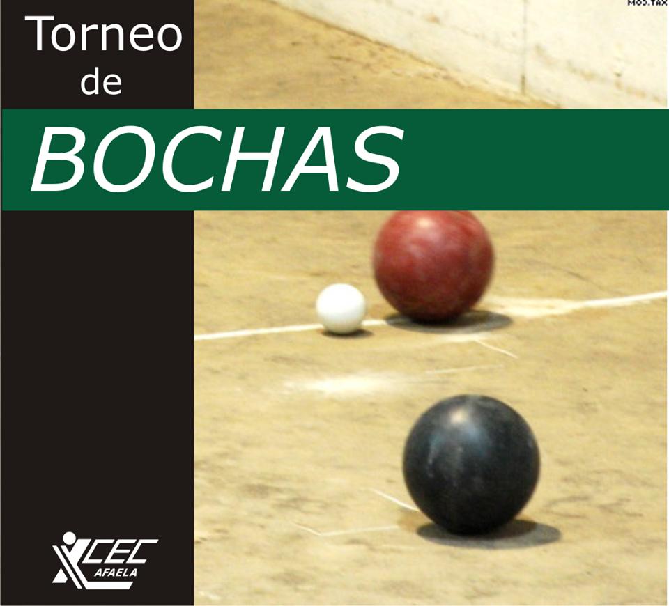 TORNEO DE BOCHAS