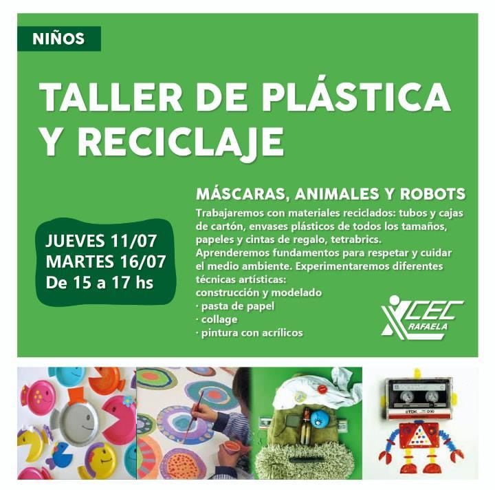 TALLER DE PLÁSTICA Y RECICLAJE