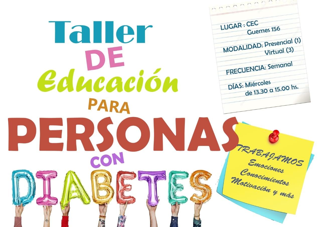 Taller de Educación para personas con Diabetes.