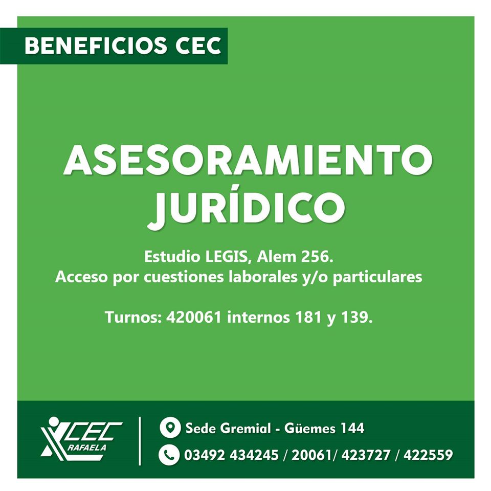 BENEFICIOS CEC
