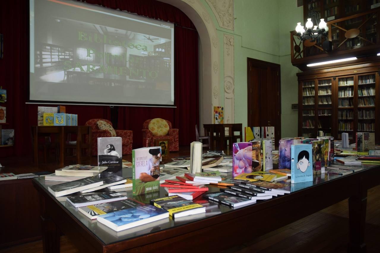 #BibliotecaSarmiento
