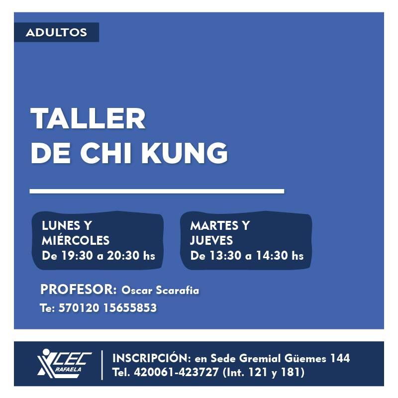 #TalleresCEC Taller de Chi Kung