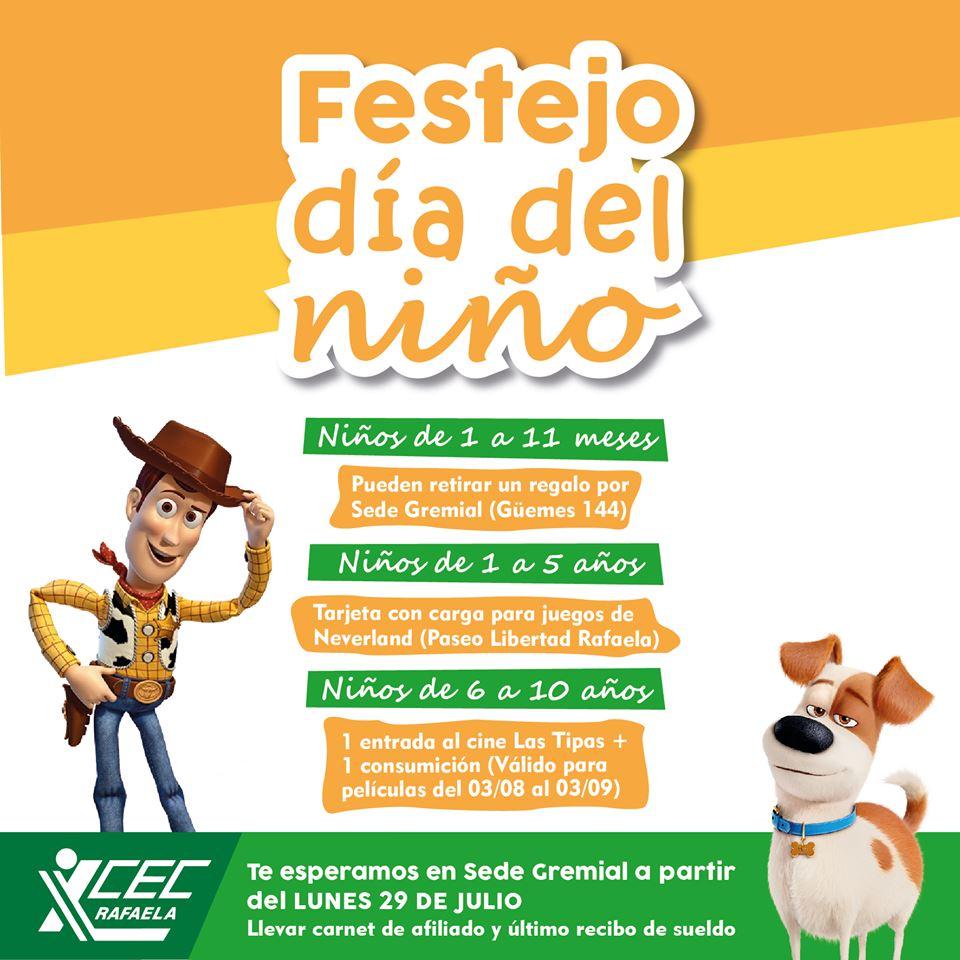 FESTEJO DÍA DEL NIÑO 2019